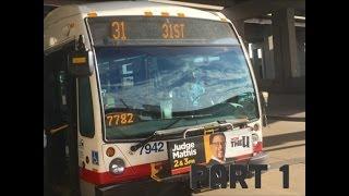 CTA 7900 Nova LFS #7942 on 31 31st - 31st Street Bus Returns! (Part 1)