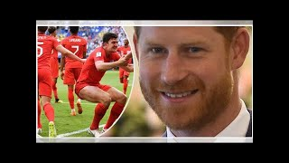 Prince Harry declares 'it's coming home' ahead of the World Cup semi-final