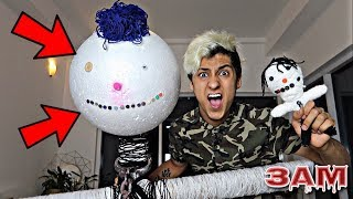 DO NOT USE GIANT VOODOO DOLL AT 3AM!! *SCARY*