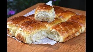 خبز الحليب او بريوش اقتصادي قطني هش كتيير How to Make Milk Bread (Brioche)