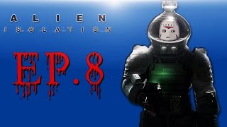 Delirious Plays Alien: Isolation Ep. 8 (Trying to save Taylor!)