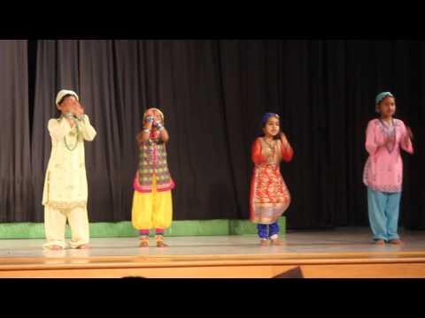 Bhoomro Bhoomro Dance Performed by Shreya and her friends at School