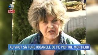 Stirile Kanal D (30.03.2017) - Au vrut sa fure icoanele de pe pieptul mortilor! Editie COMPLETA