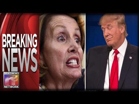 BREAKING Seconds Before Pelosi's BIG Oversea Trip Trump CANCELS it with the Stroke of His Pen