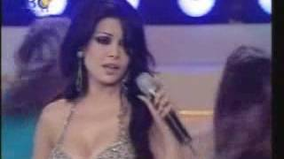 Haifa Wehbe   Ya Hayat Albi  Performing In Miss Lebanon