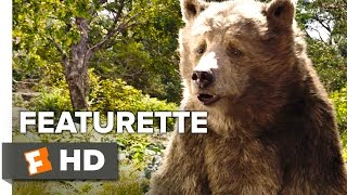 The Jungle Book Featurette - Voices of the Jungle (2016) - Bill Murray, Ben Kingsley Movie HD