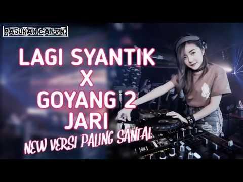 DJ LAGI SYANTIK X GOYANG DUA JARI   BASS AKIMILAKU