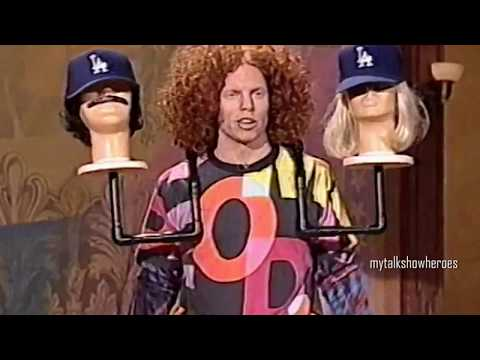 CARROT TOP BRINGS the PROPS on LENO