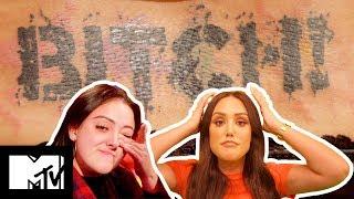 Charlotte Crosby Is OMG Over Kyia's Savage Tramp Stamp Tatt | Just Tattoo Of Us S3 Ep 6