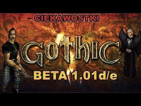 Gothic 1 beta v1.01d/e   Nieznane ciekawostki ze świata Gothica   - Usunięty Content