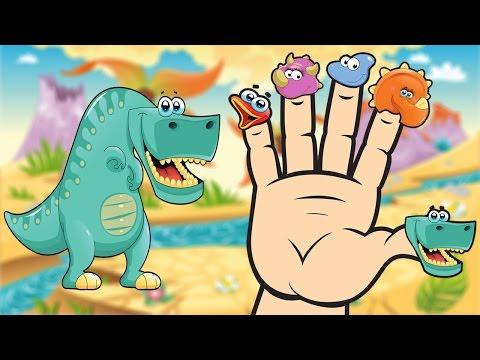 JURASSIC Finger Family Song | Dinosaurs Finger Family Nursery Rhyme