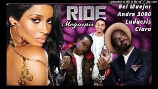 Ciara - Ride MEGAMIX (feat. Andre 3000, Ludacris, & Bei Maejor) (Explicit)