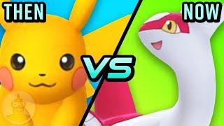 Pokemon Go - Then Vs Now - The Evolution Of Pokemon Go   The Leaderboard