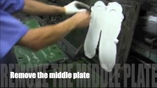 The Sneaker Factory: How Shoes are Made: Rubber Outsole Pressing