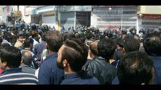 """ISFAHAN:  Apr.13, Protesting Farmers Chant: """"Our Enemy Is Here, It Is Absurdly Said America"""""""