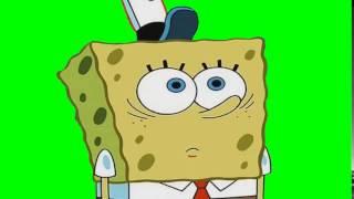 SpongeBob Green Screen: Spongebob Blinking