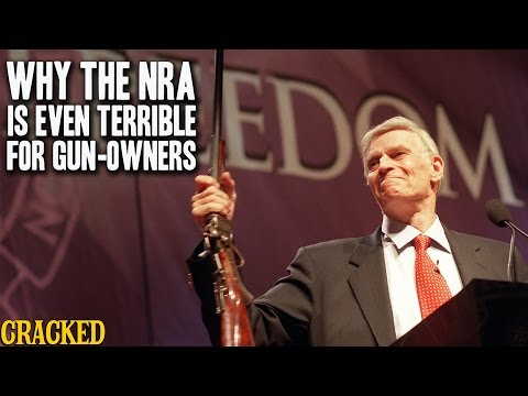watch Why The NRA Is Even Terrible For Gun-Owners - Cracked Explains