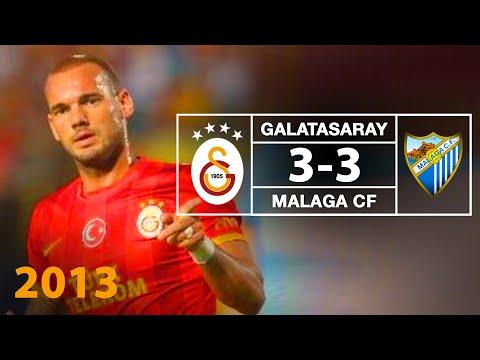 FUTBOL Opel Dostluk Maçı Galatasaray 3 3 Malaga CF