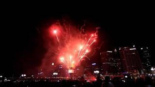 Australia Day 2012 Fireworks @ Darling Harbour