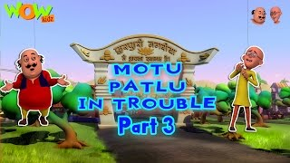 Motu Patlu in Trouble - Compilation Part 3 - 30 Minutes of Fun! As seen on Nickelodeon