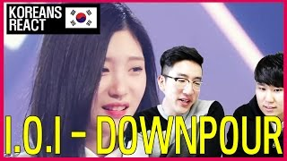 I.O.I - DOWNPOUR (소나기) Reaction