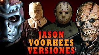 TODAS LAS VERSIONES DE JASON VOORHEES (Friday 13) - MaxiLunaPMY