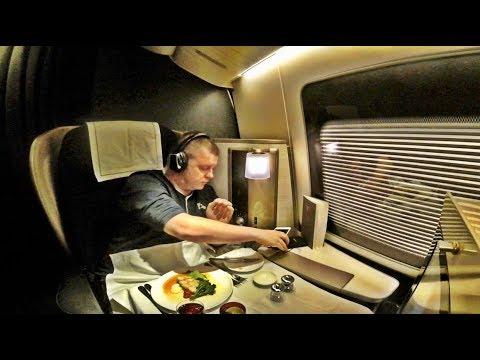 Xxx Mp4 BRITISH AIRWAYS FIRST CLASS Flight Boeing 777 200 Houston To London 3gp Sex