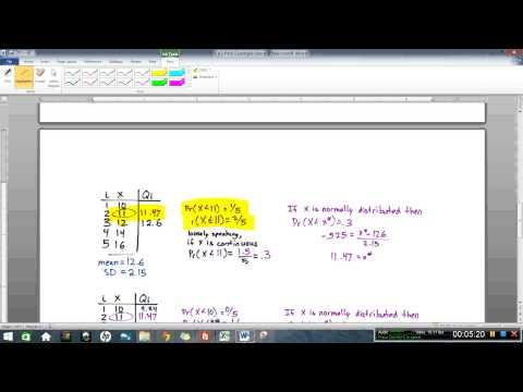 QQ Plot Example