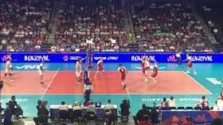 Iran vs Poland - Volleyball Nations League - Chicago, IL