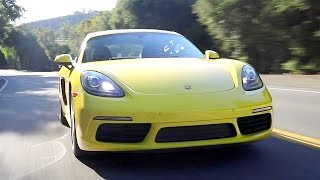 2017 Porsche 718 Boxster & Cayman - Review and Road Test