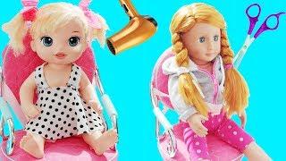 Baby Alive Oyuncak Bebekler Okul İçin YENİ Saç Modelleri   Oyuncak Butiğim