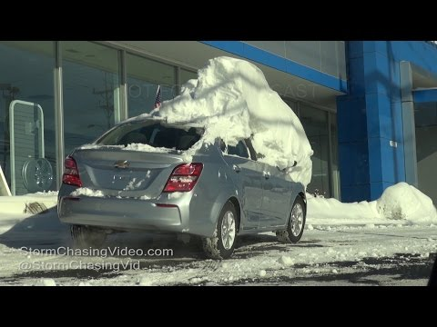 Plymouth, MA Blizzard Cleanup - 1/8/2016