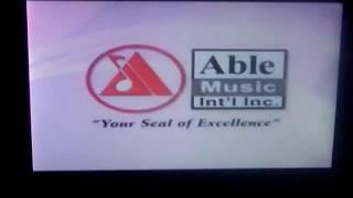 Able Music International Inc. Videoke Logo