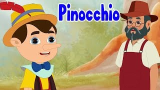 Pinocchio Full Story | Fairy Tales | Bedtime Stories For Kids | 4K UHD