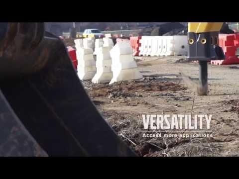 Volvo ECR145E, ECR235E excavators promotional video