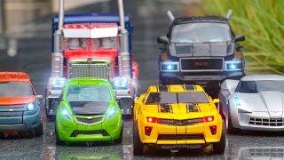 Transformers 2 ROTF Autobot Optimus Prime Bumblebee Ironhide Sideswipe Mudflap Skids Robot Car Toys