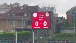 Luxembourg vs Nigeria Friendly Match 31.05.2016