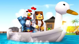 Minecraft | HOW TO TAKE A GIRL ON A DATE! (Crazy Craft Madness) #24