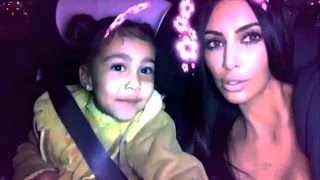 Kim Kardashian And North West All Snapchat Funny And Cute Moment Ft Kanye West,Penelophe,Saint Pt 2