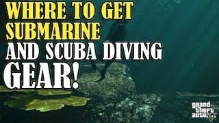 GTA 5 - How To Get Diving Gear & Submarine (Location/Guide)