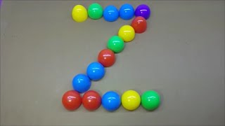 Learn Alphabet with Colorful Boxes - Surprise Eggs and Funny Kids Toys