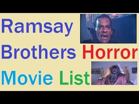 Ramsay Brothers Horror Movie List