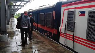 PNR-MSC KiHa 350 Commuter Express Train - PNR Paco Station