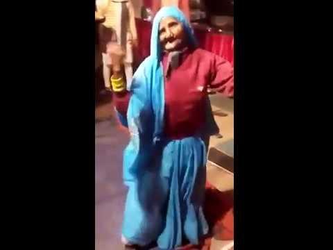 indian old woman dance on shadi