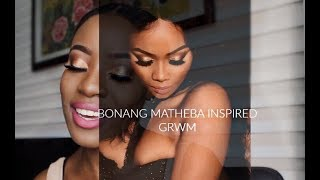 BONANG MATHEBA INSPIRED MAKE UP LOOK| AONETHEFASHIONPOET