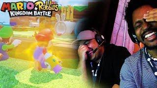 FUNNIEST GAMEPLAY 2017 (TEARS..) | Mario + Rabbids Kingdom Battle Gameplay