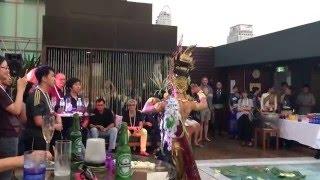 Naga Dance show at VIE Pool, VIE Hotel Bangkok
