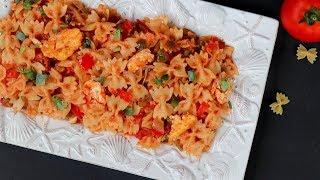 দেশি স্বাদে ঝাল মাসালা পাস্তা    Masala Pasta Recipe Bangla    How To Make Masala Pasta