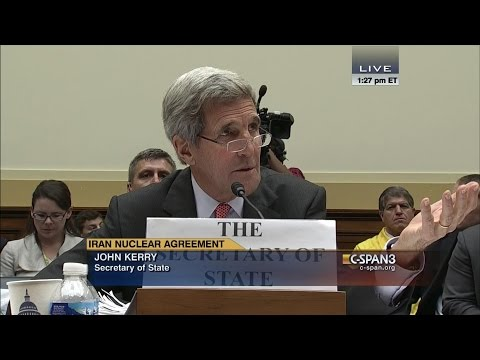"""John Kerry """"Congressman I don't need any lessons from you about who I represent. C SPAN"""