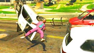 GTA V Unbelievable Crashes/Falls - Episode 12